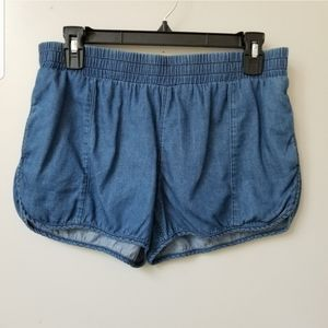 UO BDG Elastic Waist Denim Retro Shorts M